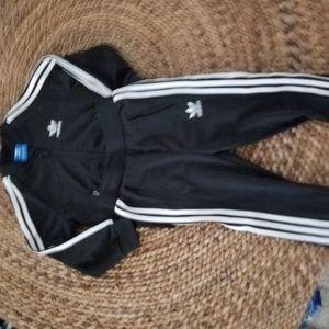 adidas Matching Sets - GENUINE BOYS 18-24 MONTHS ADIDAS BLACK TRACK SUIT